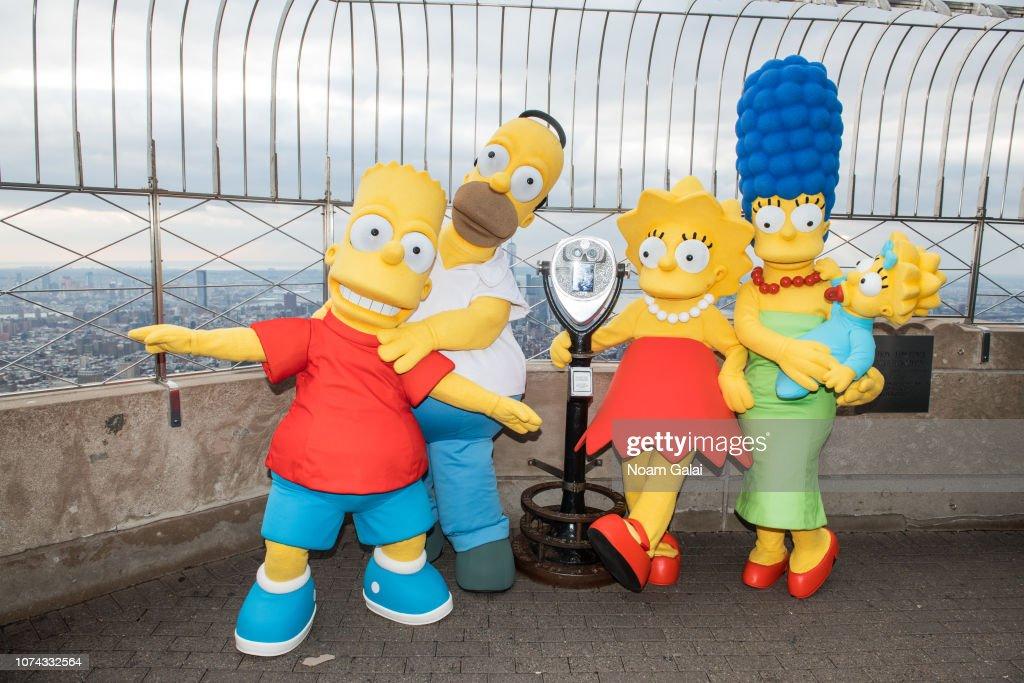 Bart Simpson Homer Simpson Lisa Simpson Marge Simpson And