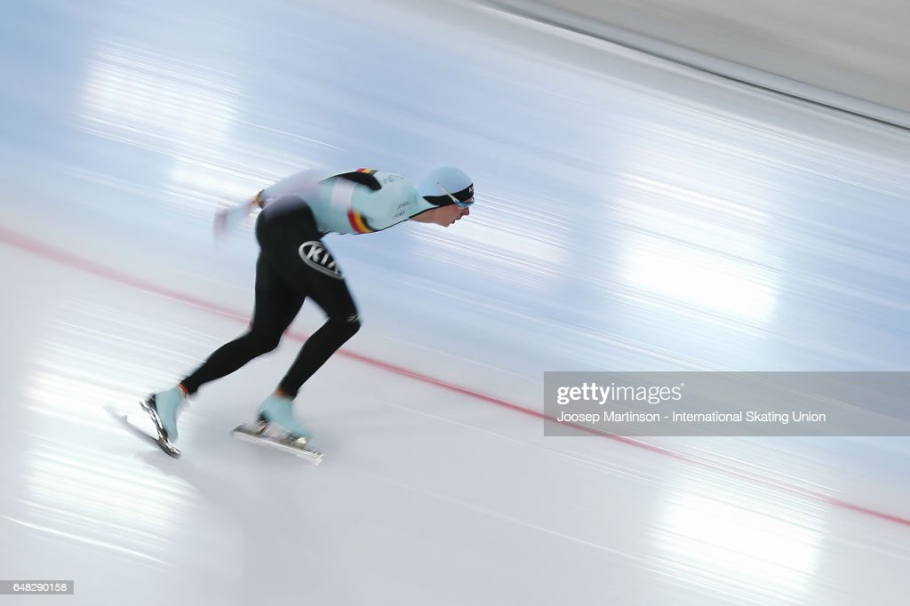 World All-round Speed Skating Championships - Day Two