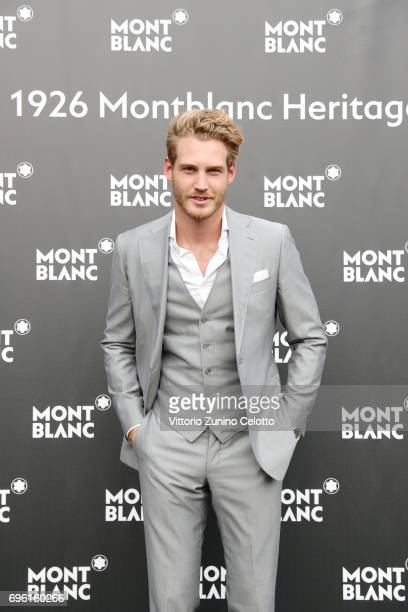 Bart van Maanen attends the '1926 Montblanc Heritage Launch event' on June 14 2017 in Florence Italy