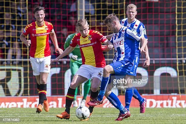 Bart Vriends of Go Ahead Eagles Sjoerd Overoor of Go Ahead Eagles Joey van den Berg of sc Heerenveen Henk Veerman of sc Heerenveen during the Dutch...