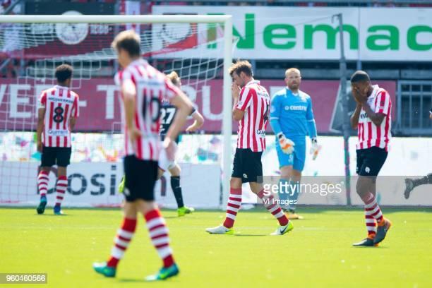 Bart Vriends of Sparta Rotterdam during the Dutch Jupiler League playoffs final match between Sparta Rotterdam and FC Emmen at the Sparta stadium Het...