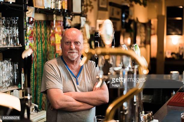Bartender in Osaka, Japan