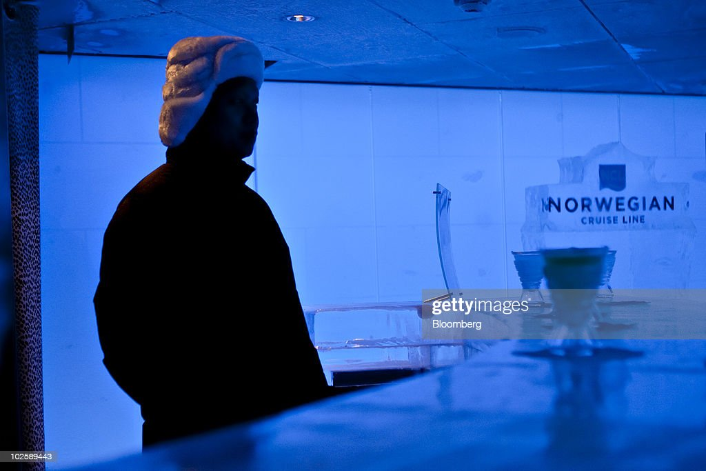 Tour Of Norwegian Cruise Lines Newest Ship Photos And Images - Ice bar on cruise ship