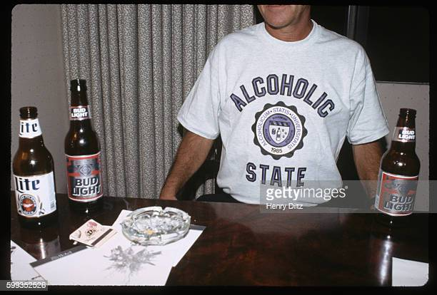 Bartender's 'Alcoholic State' T-shirt