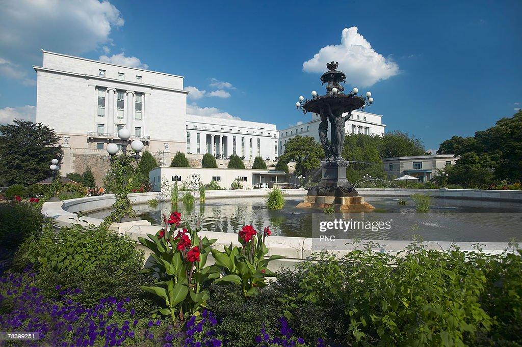 Bartholdi Park, United States Botanic Garden, Washington DC
