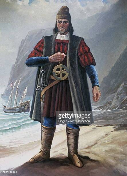 Bartholome Diaz Portuguese sailor who discovered the Cape of Good Hope in 1487 Lisbon Navy museum