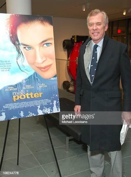 Bartle Bull during Miss Potter Special Private Screening at MoMA Theatre in New York City New York United States