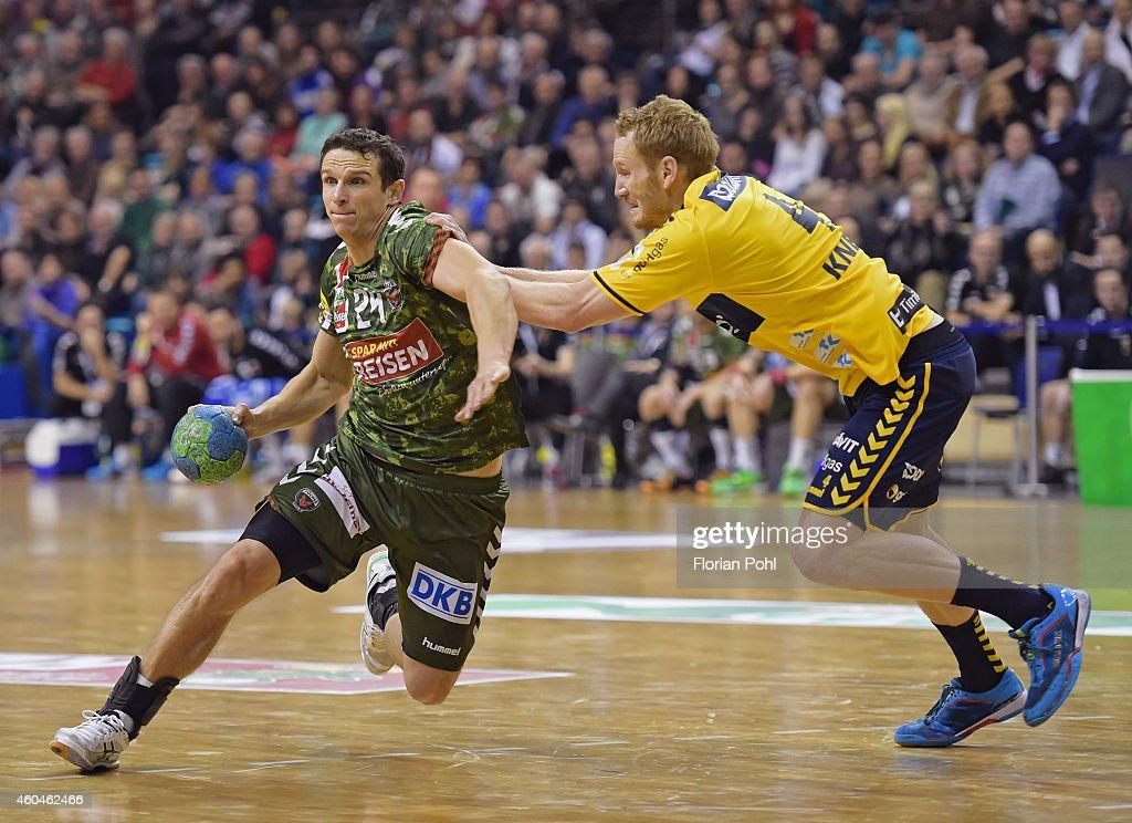 Fuechse Berlin v Rhein-Neckar Loewen - DKB Handball Bundesliga