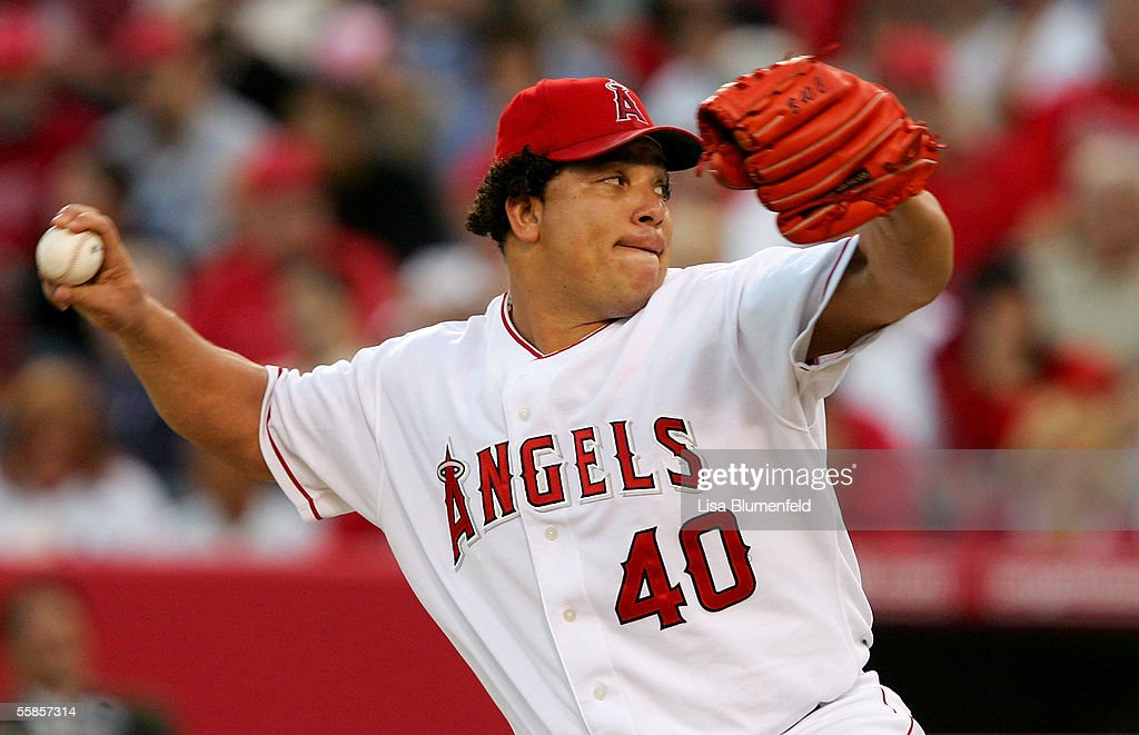 ALDS: New York Yankees v Los Angeles Angels of Anaheim - Game 1 : News Photo