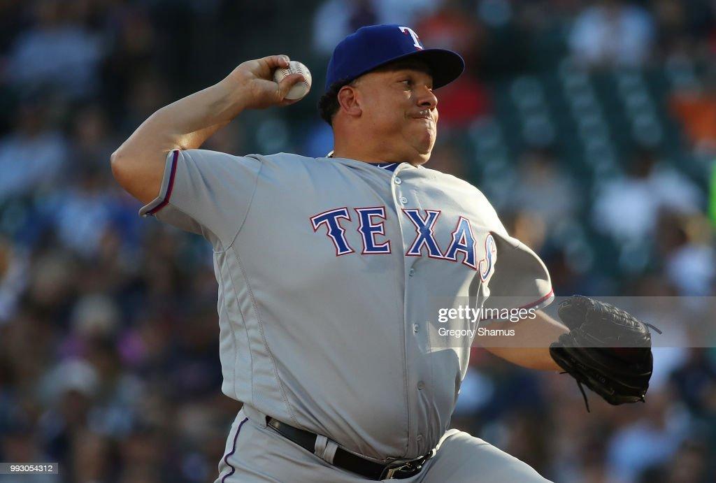 Texas Rangers v Detroit Tigers : News Photo