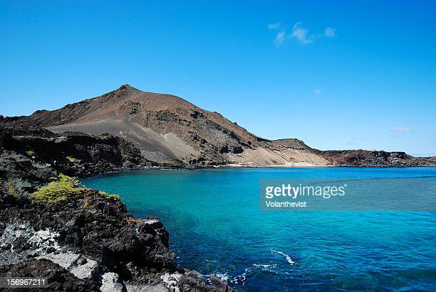 bartolomé island is a volcanic islet in galápagos - santa cruz island galapagos islands stock pictures, royalty-free photos & images
