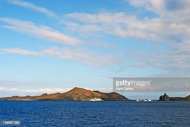 Bartolome Island from sea, Galapagos