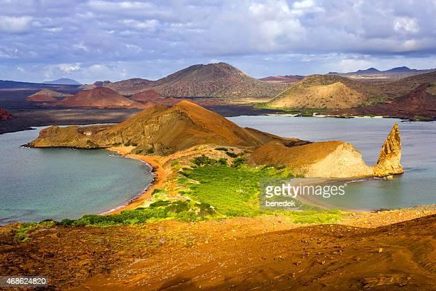 Bartolome Island Landscape, Galapagos Islands, Ecuador