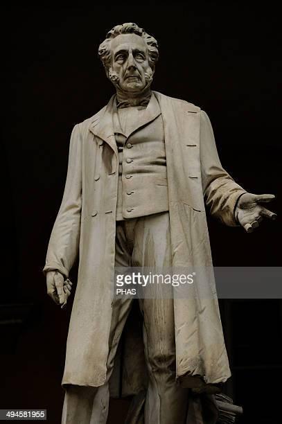 Bartolomeo Panizza Italian anatomist born in Vicenza Statue Couryard inUniversity of Pavia Italy