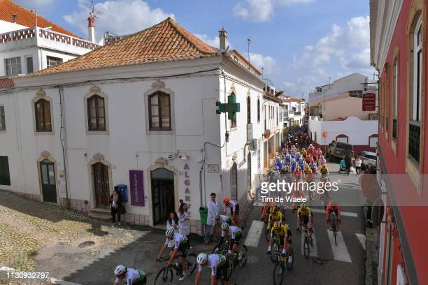 Bartolomeu de Messines Village / Landscape / Peloton / Fans / Public / during the 45th Volta ao Algarve, Stage 1 a 199,1km stage from Portimao to...