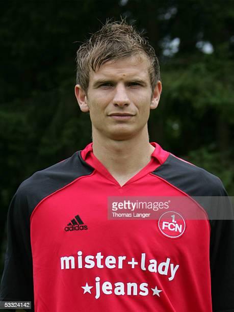 Bartos Bosacki during the Team Presentation of 1 FC Nuremberg for the Bundesliga Season 2005 2006 on July 1 2005 in Bad Woerishofen Germany