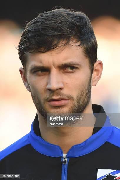 Bartosz Bereszynski of UC Sampdoria during the Serie A TIM match between SSC Napoli and UC Sampdoria at Stadio San Paolo Naples Italy on 23 December...
