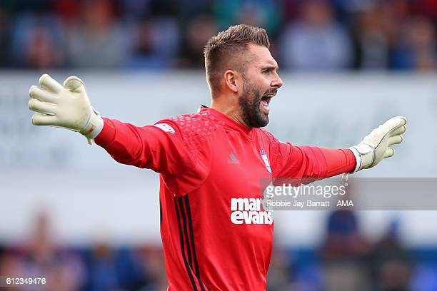Bartosz Bialkowski of Ipswich Town during the Sky Bet Championship match between Ipswich Town and Huddersfield Town at Portman Road on October 1 2016...