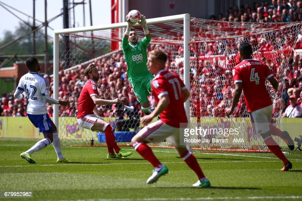 Bartosz Bialkowski of Ipswich Town during the Sky Bet Championship match between Nottingham Forest and Ipswich Town at City Ground on May 7 2017 in...