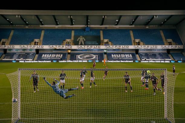 GBR: Millwall v Burnley - Carabao Cup Third Round