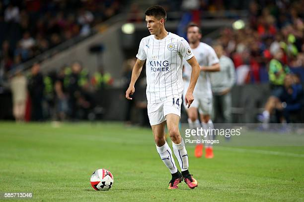 Bartosz Kapustka of Leicester City during the International Champions Cup match between Leicester City and Barcelona at the Friends Arena on August 3...