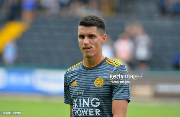 Bartosz Kapustka of Leicester City looks on during the preseason friendly match between Notts County and Leicester City at Meadow Lane on July 21st...
