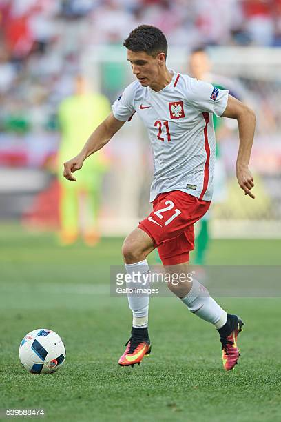 Bartosz Kapustka of Poland during the UEFA Euro 2016 group C match between Poland and Northern Ireland at the Allianz Riviera stadium on June 12 2016...