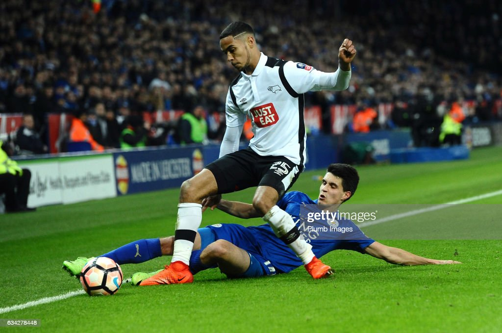 Leicester City v Derby County - The Emirates FA Cup Fourth Round Replay : News Photo