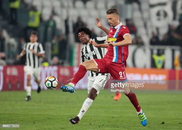 Bartosz Salamon during Serie A match between Juventus v Spal in Turin on october 25 2017