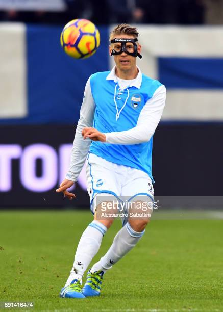 Bartosz Salamon of Spal in action during the Serie A match between Spal and Hellas Verona FC at Stadio Paolo Mazza on December 10 2017 in Ferrara...