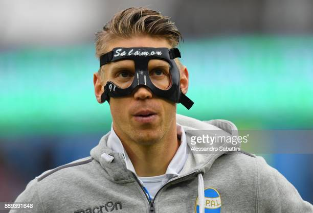 Bartosz Salamon of Spal looks on before the Serie A match between Spal and Hellas Verona FC at Stadio Paolo Mazza on December 10 2017 in Ferrara Italy