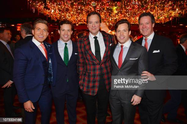 Baruch Shemtov Christian Conway George Farias Jackson Conway and Dr Joseph Conway attend George Farias Anne Jay McInerney Host A Holiday Party at The...