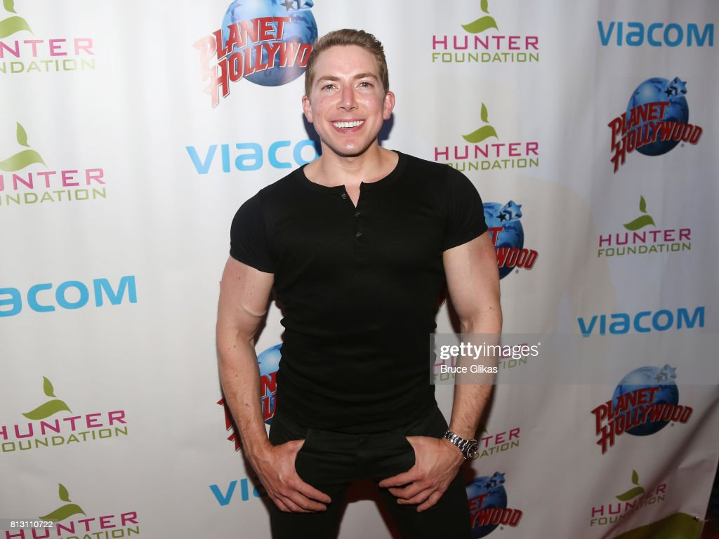 Baruch Shemtov poses at a celebration for The Hunter Foundation Charity that helps fund programs for families and youth communities in need of help and guidance at Planet Hollywood Times Square on July 11, 2017 in New York City.