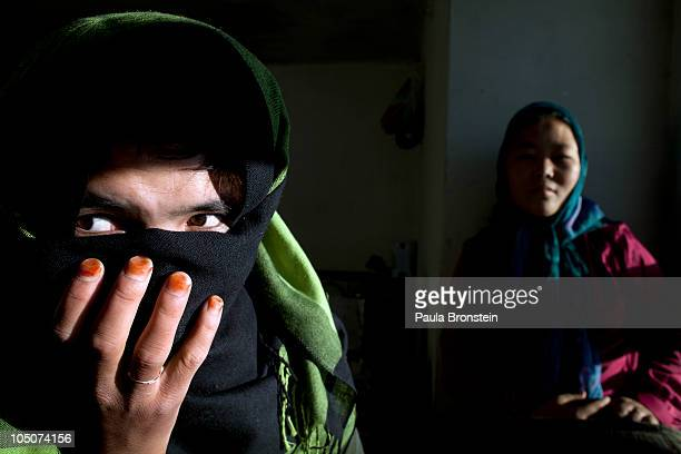 Bas Gul resides at a women's shelter and safe house October 7 2010 in Bamiyan Afghanistan She was a child bride forced to marry at age 11 and ran...