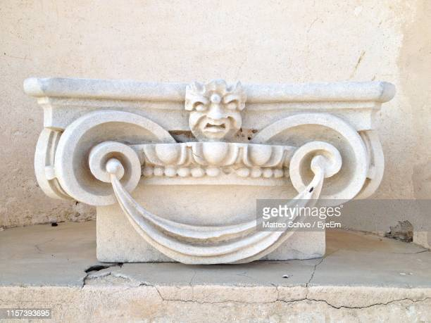 bas relief against wall - bas relief stock pictures, royalty-free photos & images