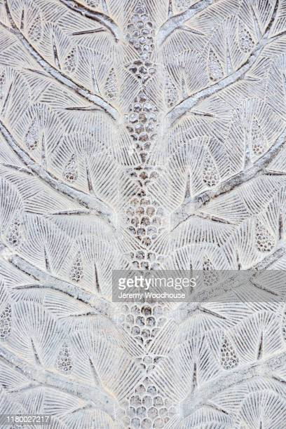 bas relief of a tree - bas relief stock pictures, royalty-free photos & images