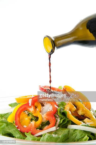 Basalmic Essig und Salat
