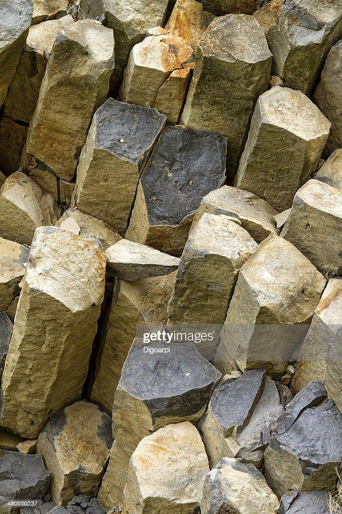 Basalto : Foto de stock