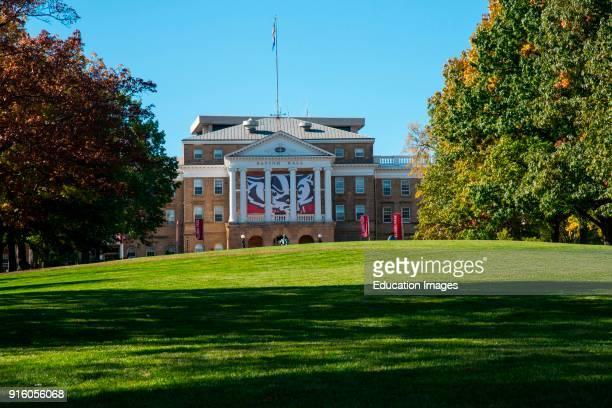 Bascom Hall on Bascom Hill University of Wisconsin Madison