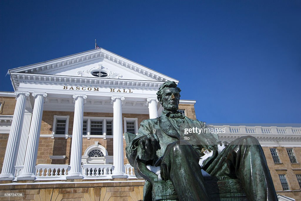 Bascom Hall University of Wisconsin Madison : Stock Photo