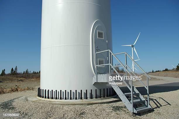 Base of a windmill