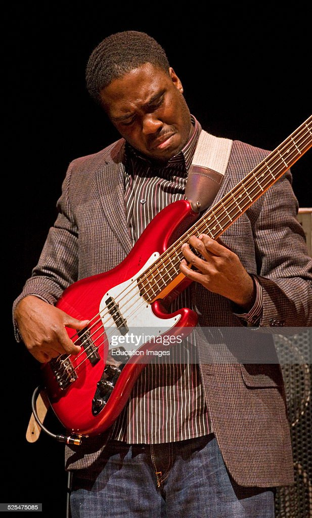 Base Player Derrick Hodge Plays With Terence Blanchard At