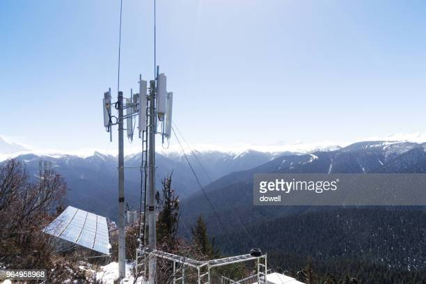 base station on the mountain