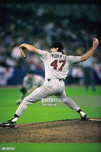 ALCS Playoffs Minnesota Twins Jack Morris in action pitching vs Toronto Blue Jays Game 4 Toronto Canada CREDIT John Iacono