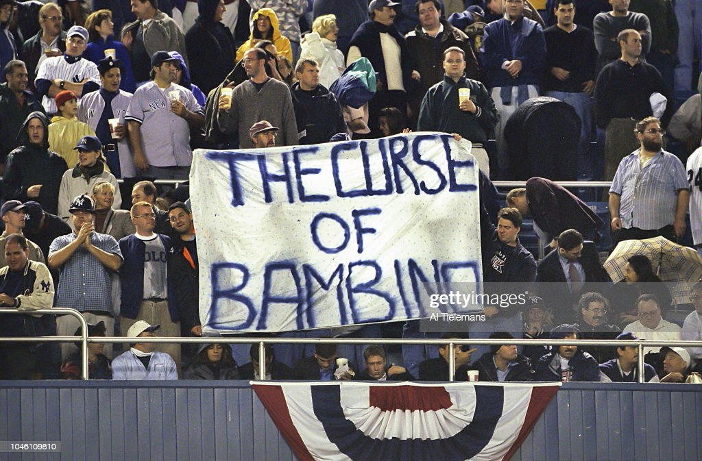 New York Yankees fans in stand...