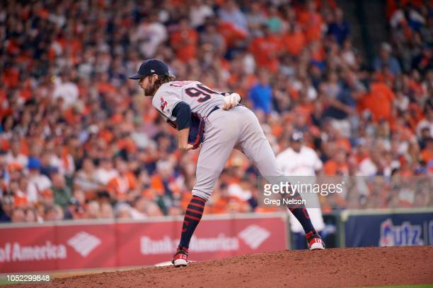 Cleveland Indians Adam Cimber during game vs Houston Astros at Minute Maid Park Game 1 Houston TX CREDIT Greg Nelson