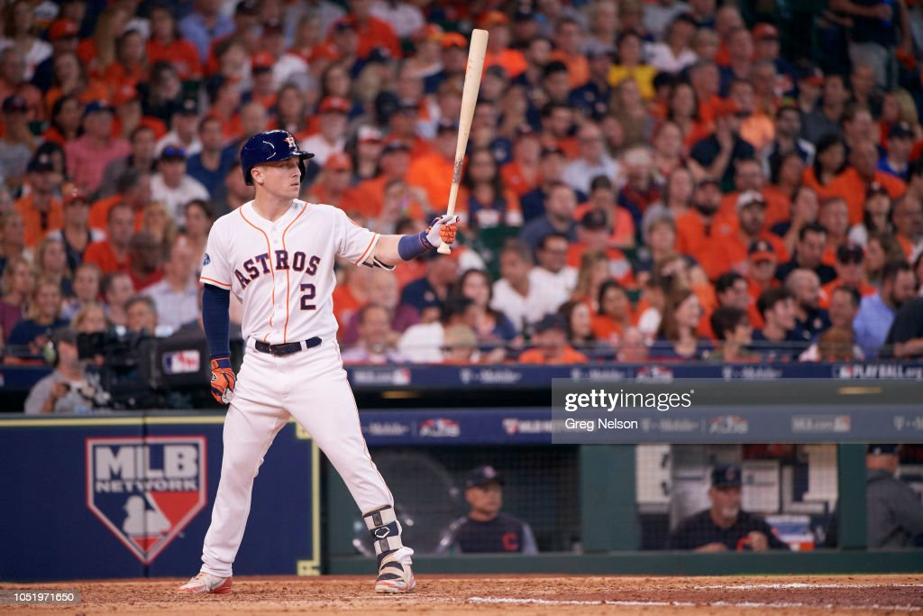 Houston Astros Alex Bregman in action, at bat and hitting