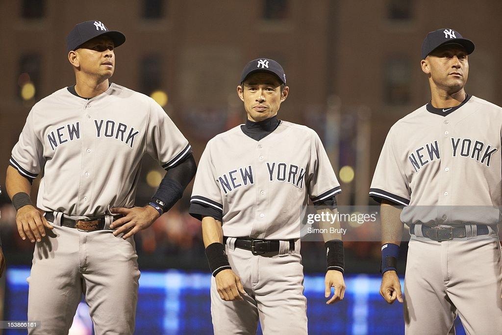 Baltimore Orioles vs New York Yankees, 2012 American League Division