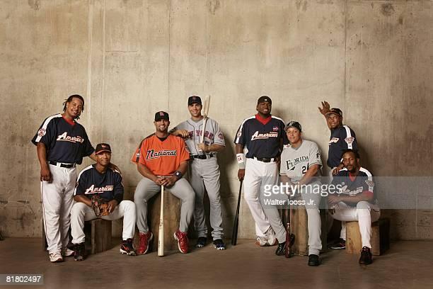 Baseball All Star Weekend New York Mets Manny Ramirez Baltimore Orioles Melvin Mora St Louis Cardnials Albert Pujols New York Mets Carlos Beltran...