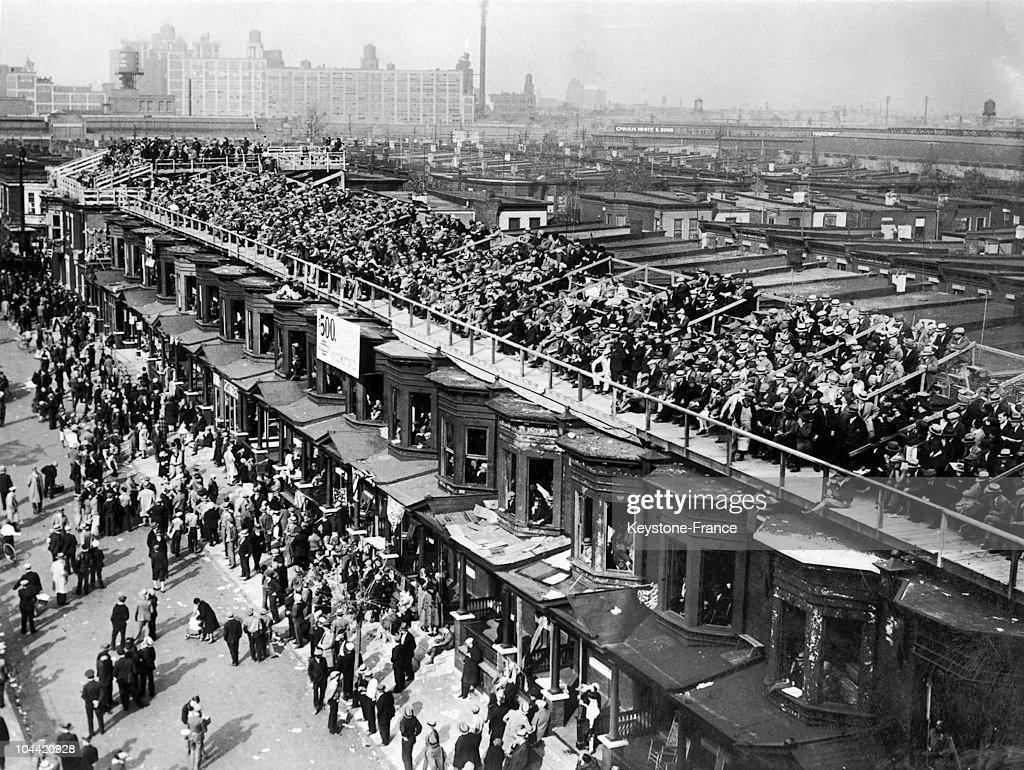 Baseball Arena, Shibe Park In Philadelphia In 1929 : News Photo